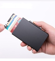 Бокс для кредитных карт/Кардхолдер/RFID Protected/Картхолдер/Оригинал